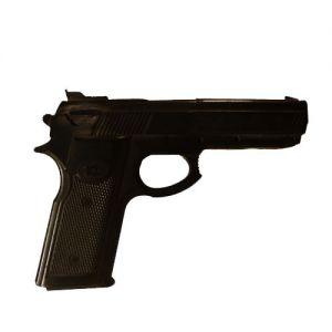 arme de poing fictive self defense noir