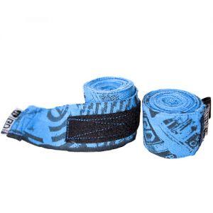 bandes de maintien pro v4 imprimée bleu fluo 250 / 350 / 450cm