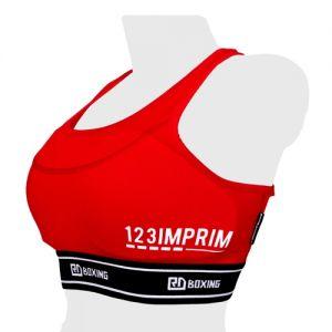Brassiere de protection feminine rouge WGBC #14 -Rouge-M