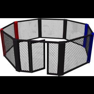 Cage de MMA au sol