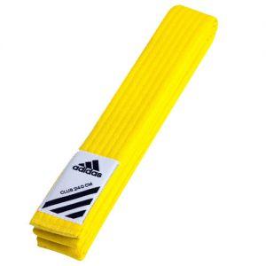 ceinture club jaune