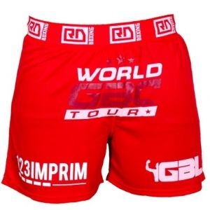 FIGHTER SHORT WGBC #14 rouge-Rouge-S