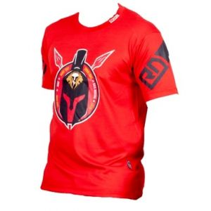 EVENT WEAR : T-shirt Ezbirifightv | Hissssh Ltd-Rouge-L