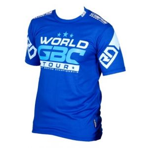 EVENT WEAR : T-shirt respirant WGBC #14 bleu Ltd