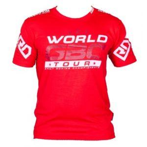 EVENT WEAR : T-shirt respirant WGBC #14 rouge Ltd-Rouge-S