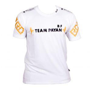 FIGHTER WEAR : T-shirt respirant Djany FIORENTI Ltd-Blanc-L