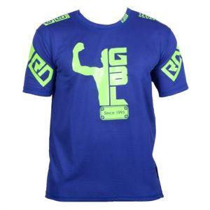 FIGHTER WEAR : T-shirt respirant Eddy NAIT SLIMANI Ltd-Bleu-L