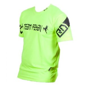 FIGHTER WEAR : t-shirt sérigraphie Wilson VARELA LTD-Vert-L