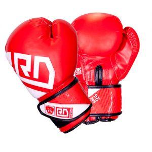 Gants de boxe ANGLAISE AMATEUR Rumble V5 rouge RD boxing