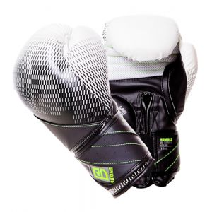 Gants de boxe Rumble V5 FADE blanc-noir RD boxing