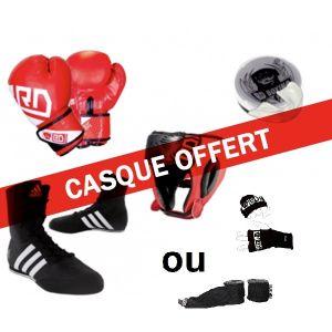 KIT Compétition jeune BA Unisex rouge + CASQUE OFFERT