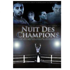 nuit des champions 2009 double dvd