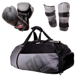 """OFFRE PACK STYLE + """" GANTS  + SAC TAILLE M + PROTEGE TIBIA """" V5 FADE RD BOXING"""