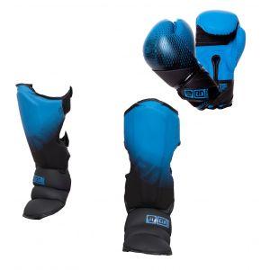 PACK K1/ MUAY THAÏ V5 FADE V5 bleu/noir