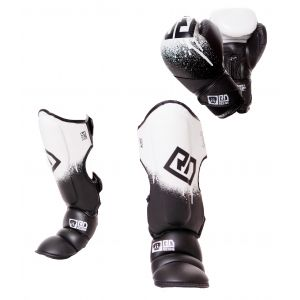 PACK K1/ MUAY THAÏ V5 STENCIL V5 noir/blanc