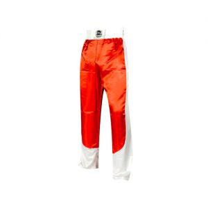 pantalon full contact a bandes stretch junior rouge blanc
