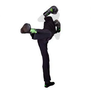 Pantalon Homme savate boxe francaise noir