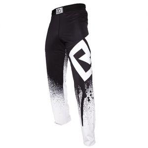 Pantalon savate boxe francaise sublimé noir/blanc STENCIL V5 RD BOXING