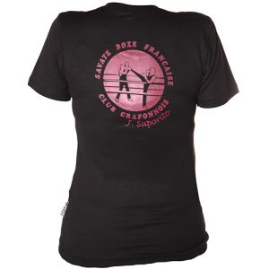 PERSO CLUB : T-shirt respirant féminin sérigraphie