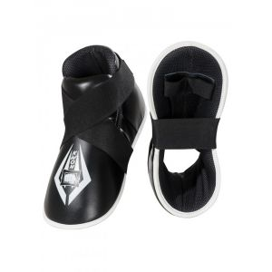 protege pied full contact pu noir