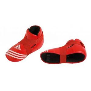 protege pied full contact rouge Adidas