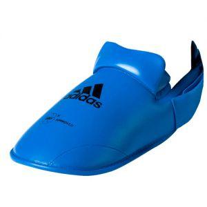 protege pied karate officiel wkf bleu