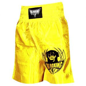 short kick boxing logo jaune