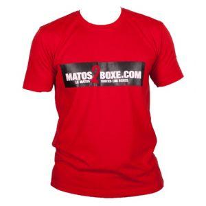 T-shirt coton lifestyle Unisex rouge M2B