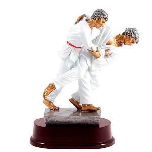 trophee resine judo ashi guruma masculin