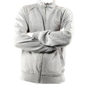 veste zippée patterson gris