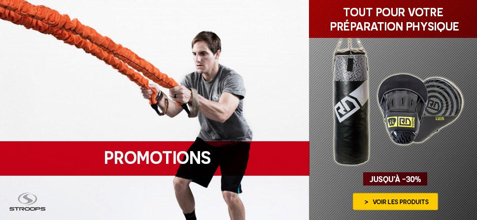 Promotions préparation physique